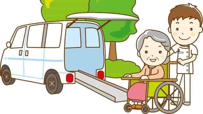 介護タクシー イラスト